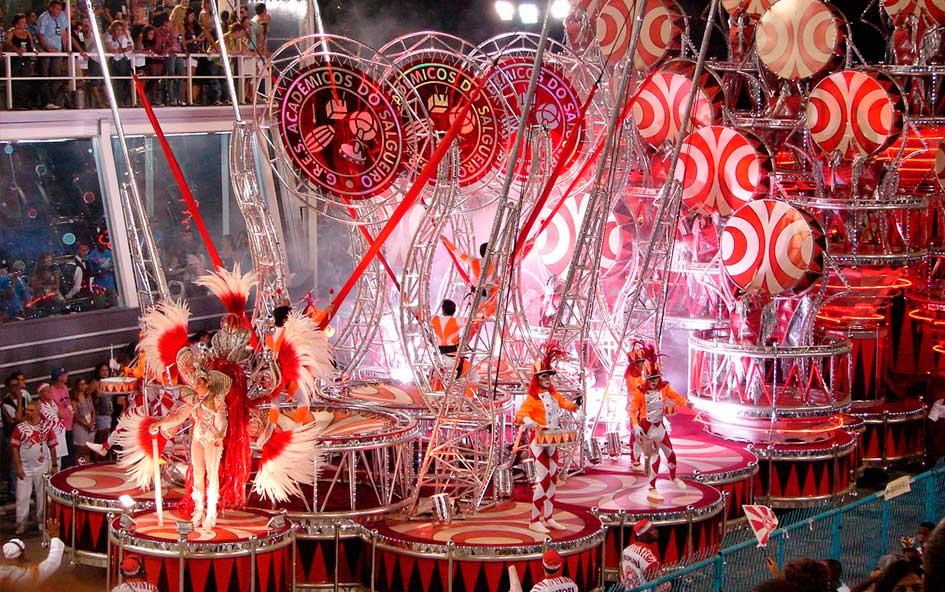 Partes de una Escuela de Samba